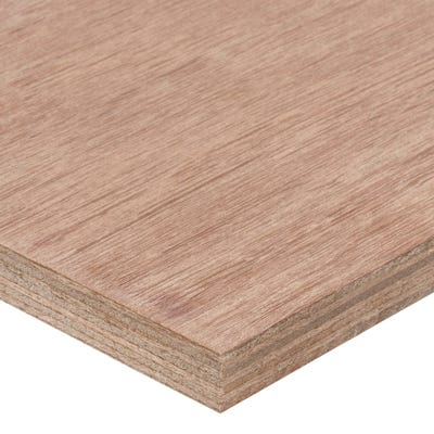 18mm Far Eastern Marine Grade Plywood 2440mm x 1220mm (8' x 4') Pack of 50