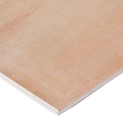 5.5mm Hardwood External Grade Plywood B/BB 2440mm x 1220mm (8' x 4') Pack of 165