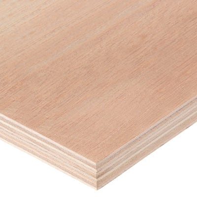 15mm Hardwood External Grade Plywood B/BB 2440mm x 1220mm (8' x 4') Pack of 60