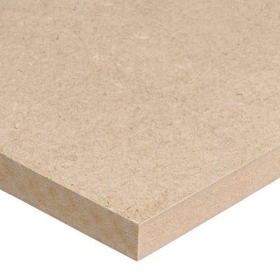 18mm Standard MDF Board 2440mm x 1220mm (8' x 4') Pack of 48