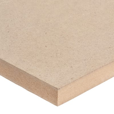 25mm Standard MDF Board 2440mm x 1220mm (8' x 4') Pack of 35