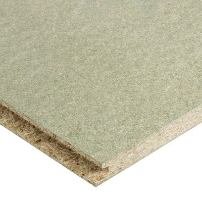 18mm P5 Moisture Resistant Tongue & Groove Chipboard Flooring 2400mm x 600mm (8' x 2') Pack of 80
