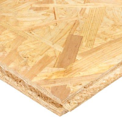 18mm OSB 3 Tongue & Groove Flooring Board 2400mm x 590mm (8' x 2') Pack of 72