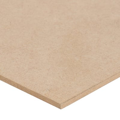 3mm Standard MDF Board 2440mm x 1220mm (8' x 4') Pack of 240
