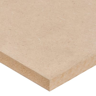 15mm Standard MDF Board 2440mm x 1220mm (8' x 4') Pack of 56