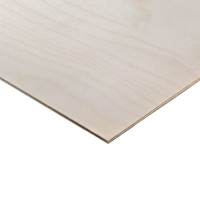 4mm Birch Throughout Plywood BB/BB 2440mm x 1220mm (8' x 4') Pack of 150