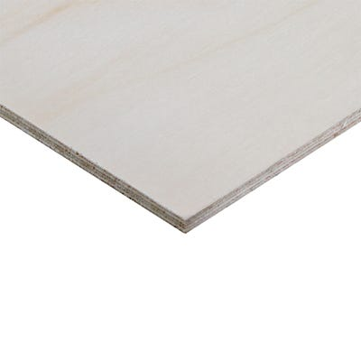 6.5mm Birch Throughout Plywood BB/BB 2440mm x 1220mm (8' x 4') Pack of 65