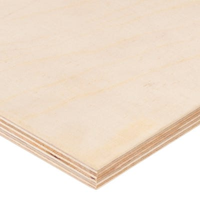12mm Birch Throughout Plywood BB/BB 2440mm x 1220mm (8' x 4') Pack of 50