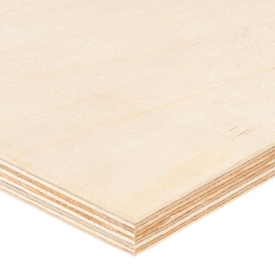 15mm Birch Throughout Plywood BB/BB 2440mm x 1220mm (8' x 4') Pack of 26
