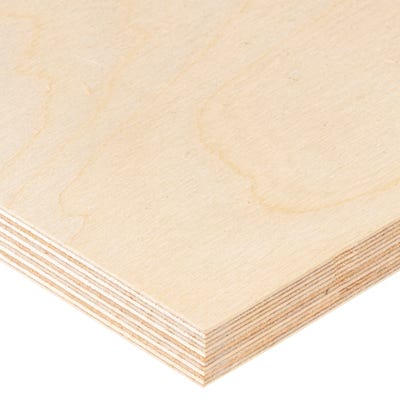 18mm Birch Throughout Plywood BB/BB 2440mm x 1220mm (8' x 4') Pack of 35