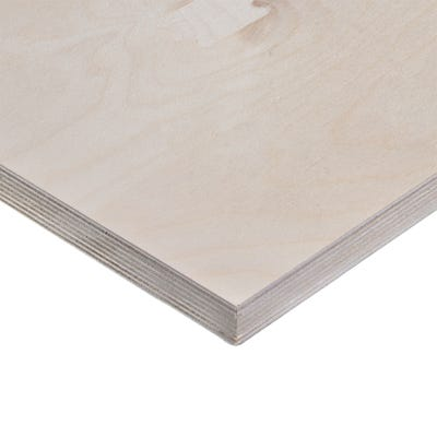 24mm Birch Throughout Plywood BB/BB 2440mm x 1220mm (8' x 4') Pack of 25
