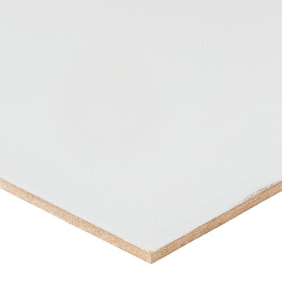 3mm White Lacquered MDF Board 2440mm x 1220mm (8' x 4') Pack of 240