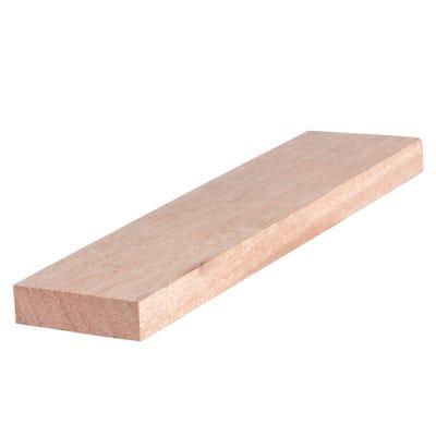 20mm x 70mm Planed Hardwood Meranti PAR Timber (3'' x 1'')