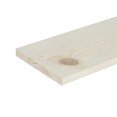 19mm x 125mm Planed Softwood PAR Timber (5'' x 0.75'') Finish 14.5mm x 119mm