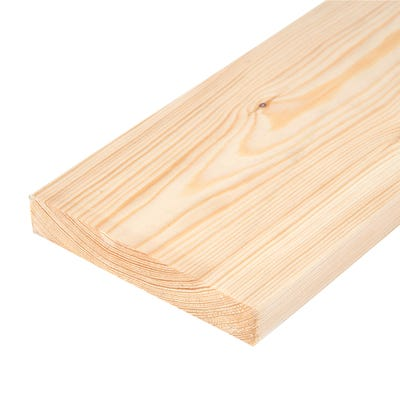 25mm x 125mm Planed Softwood PAR Timber (5'' x 1'') Finish 20.5mm x 119mm