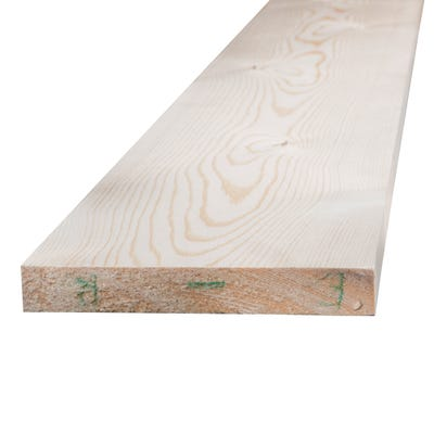 25mm x 150mm Planed Softwood PAR Timber (6'' x 1'') Finish 20.5mm x 144mm