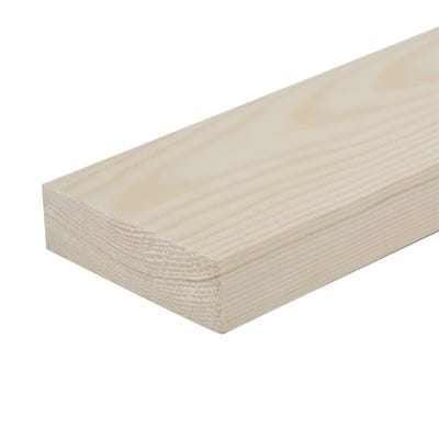 25mm x 75mm Planed Softwood PAR Timber (3'' x 1'') Finish 20.5mm x 69mm