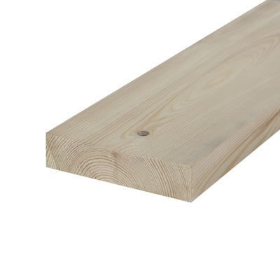32mm x 125mm Planed Softwood PAR Timber (5'' x 1.25'')