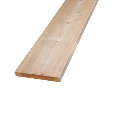32mm x 250mm Planed Softwood PAR Timber (10'' x 1.25'') Finish 27mm x 244mm