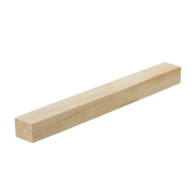 32mm x 38mm Planed Softwood PAR Timber (1.5'' x 1.25'') Finish 27mm x 33mm