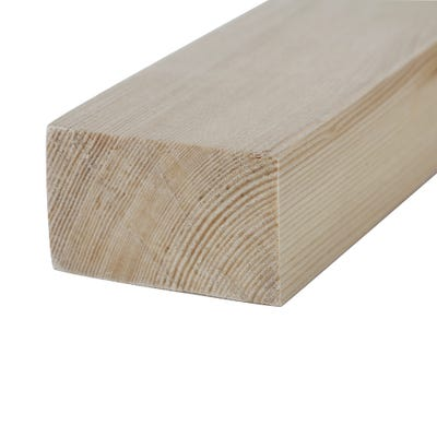 32mm x 50mm Planed Softwood PAR Timber (2'' x 1.25'') Finish 27mm x 44mm