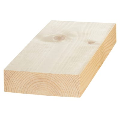 50mm x 150mm Planed Softwood PAR Timber (6'' x 2'') Finish 44mm x 144mm