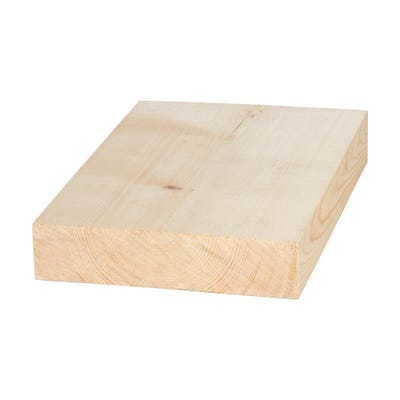 50mm x 200mm Planed Softwood PAR Timber (8'' x 2'') Finish 44mm x 194mm