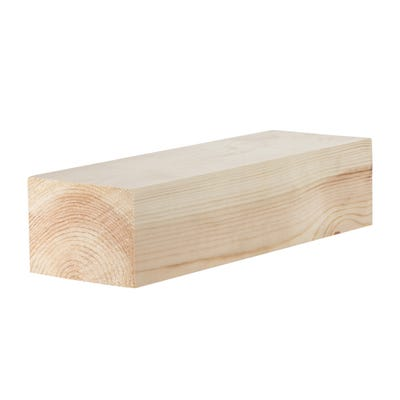 75mm x 100mm Planed Softwood PAR Timber (4'' x 3'')