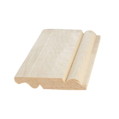 25mm x 125mm Softwood Torus & Ogee Reversible Skirting (Finish 20.5mm x 119mm)