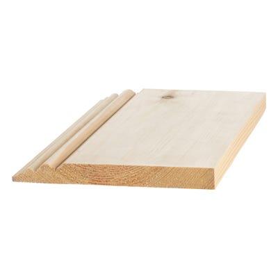 25mm x 200mm Softwood Belgravia Skirting (Finish 20.5mm x 193mm)