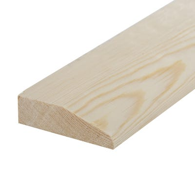 25mm x 75mm Softwood Chamfered Architrave