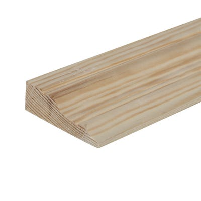25mm x 75mm Softwood Victorian Architrave