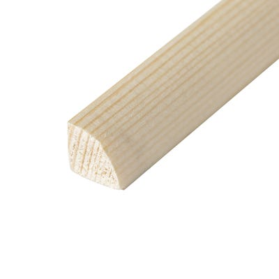 16mm x 16mm Softwood Quadrant (Finish 12mm x 12mm)