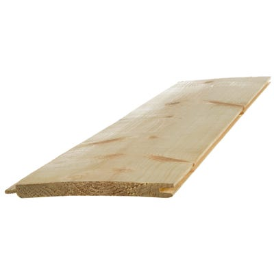 13mm x 100mm Softwood Tongue & Groove V Cladding (Finish 8.5mm x 94mm)