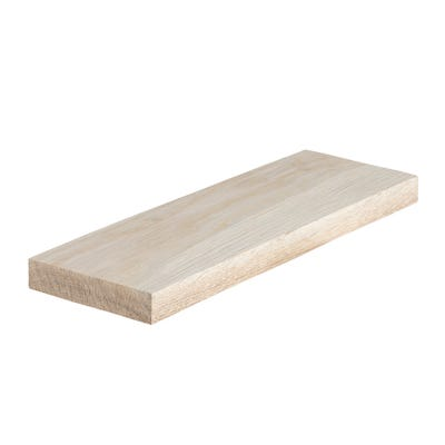20mm x 95mm Planed Hardwood American White Oak PAR Timber (4'' x 1'')