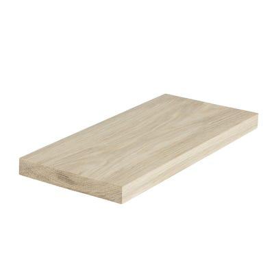 20mm x 140mm Planed Hardwood American White Oak PAR Timber (6'' x 1'')