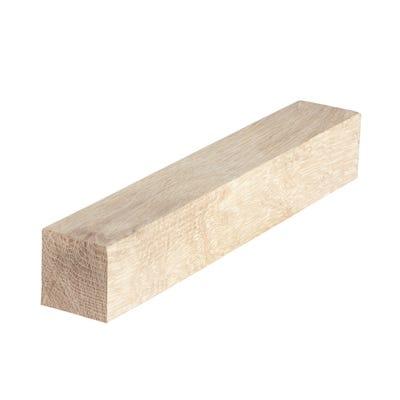 45mm x 45mm Planed Hardwood American White Oak PAR Timber (2'' x 2'')