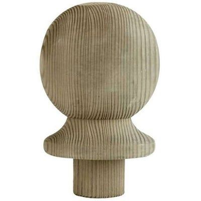 95mm x 75mm Richard Burbidge Treated Ball Post Cap LD203