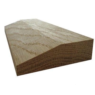 20mm x 68mm Hardwood American White Oak Chamfered Architrave