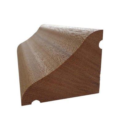 45mm x 55mm Hardwood American White Oak Door Drip 914mm (2'' x 2'')
