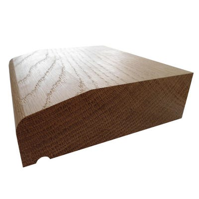 45mm x 140mm Hardwood American White Oak Flat Sill