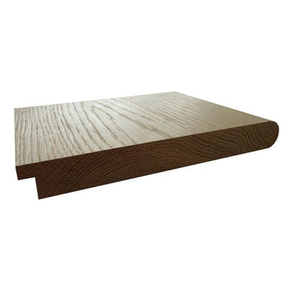 26mm x 218mm Hardwood American White Oak Tongue & Nosed Window Board