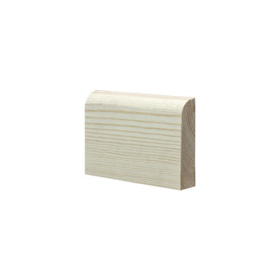 19mm x 75mm Softwood Bullnose Architrave (Finish 14.5mm x 69mm)