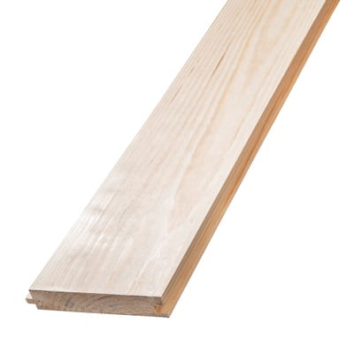 25mm x 125mm Softwood Tongue & Groove Redwood Flooring (5'' x 1'')