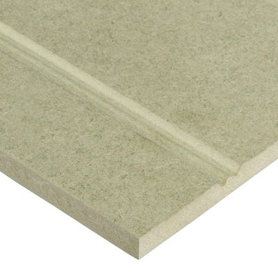 Matchboard 9mm York Moisture Resistant MDF Panel Portrait Long Joint 2440mm x 1220mm