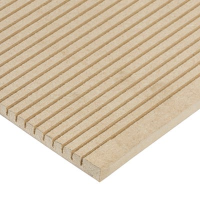 Matchboard 6mm Flexible Standard MDF Landscape (Barrel) 2440mm x 1220mm