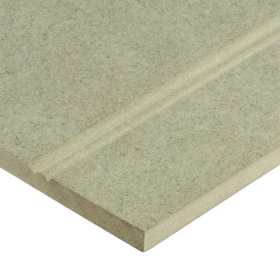 Matchboard 9mm York Moisture Resistant MDF Panel Landscape Short Joint 2440mm x 1220mm