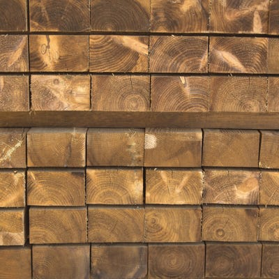 Grange 120mm x 200mm Sawn New Railway Sleeper 1200mm