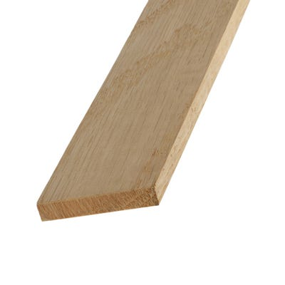 46mm x 8mm Richard Burbidge White Oak Stripwood 2400mm FB1105 Pack of 10