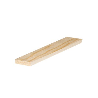 36mm x 8mm Richard Burbidge Pine Stripwood 2400mm FB323 Pack of 12